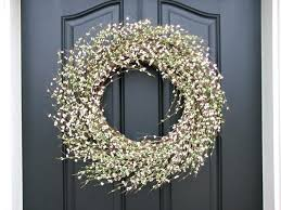 front doors oversized front door wreaths door design exterior