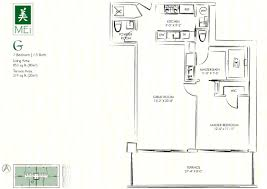 The Ivy Miami Floor Plans by Mei Miami Beach Condo 5875 Collins Florida 33140 Apartments