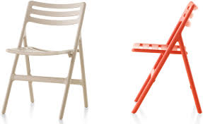 Folding Chairs Magis Folding Air Chair Two Pack Hivemodern Com