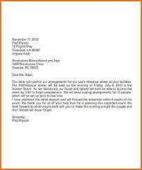 7 formal business letter format sample financial statement form
