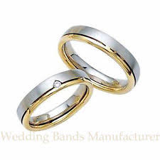 wedding rings his and hers matching sets his matching bridal set wedding rings bands 14 k white yellow