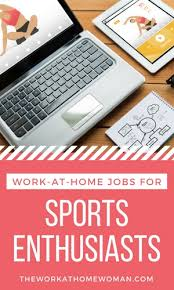 Home Based Design Jobs At Home Jobs For Sports Enthusiasts