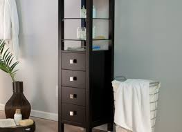 Storage Cabinet With Baskets Painted Bathroom Vanity Cabinet With Wicker Baskets Painting