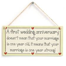 1st year wedding anniversary a wedding anniversary doesn t that your marriage is one
