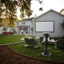 Backyard Projector Photos Hgtv