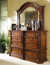 large double dresser and landscape dresser mirror by fine