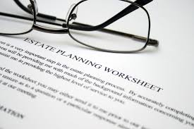 Financial Planning Worksheet Estate Planning U2013 Retirement Capital Strategies
