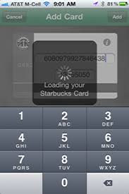 add a new starbucks card to my iphone starbucks app ask dave taylor