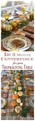 create a rustic harvest centerpiece for your thanksgiving table