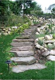 Blue Ridge Landscaping by Natural Stone Steps
