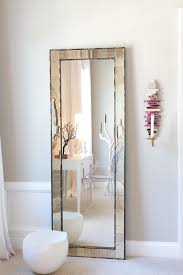 Mirror With Candle Sconces Full Length Wall Mounted Mirror Bedroom Contemporary With