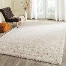 Berber Throw Rugs White 4 X 6 Solid Gradient Area Rugs Rugs The Home Depot