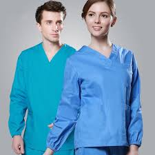 2017 cheap sleeve scrubs uniforms sets and unisex