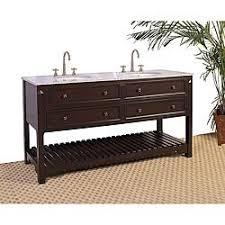 Overstock Vanity Granite Top 68 Inch Double Sink Bathroom Vanity Overstock Com