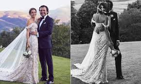 pronovias wedding dresses pronovias president s gabriela palatchi marries see the