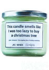 jac vanek tree scented candle dolls kill