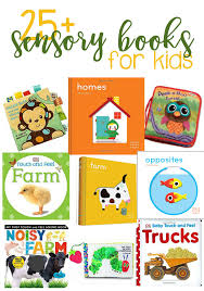 25 books for sensory development for