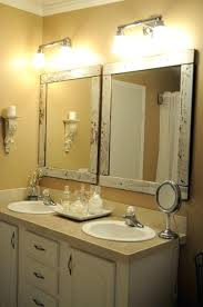 bathroom mirror ideas diy diy wood frame bathroom mirror best framed mirrors ideas on large