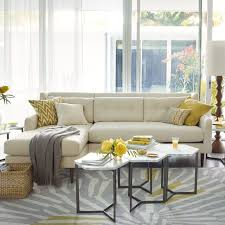 West Elm Sectional Sofa Hex Side Table Steel West Elm Side Table For Sectional Sofa