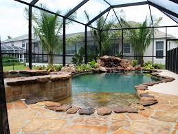 inground pools jacksonville fl pool builder and beautiful enclosed