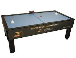 hockey time air hockey table gold standard games home pro elite air hockey table tables