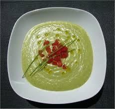 cuisine froide soupe froide concombre avocat et courgette hepirite cuisine