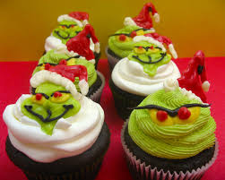 sugar swings serve some grinch cupcakes