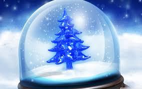 christmas snow globe wallpaper 2560x1600 26293