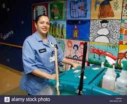 custodian at a major new york city hospital stock photo royalty