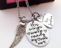 remembrance items items similar to memorial jewelry memorial necklace in loving