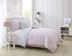 Blush Pink Comforter Emma Gold White Blush With Quilted Throw Comforter Set