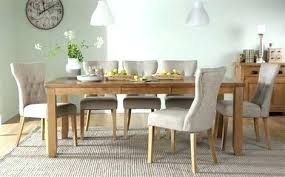 solid oak dining table and 6 chairs dining table and 6 chairs ebay nhmrc2017 com