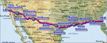 map louisiana highways interstates interstate 10 i10 map santa california to washington seeks