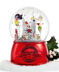 macy s thanksgiving day parade snow globe 2014 limited