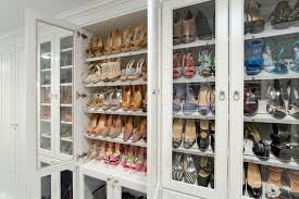 shoe storage traditional closet new york by sophisticated