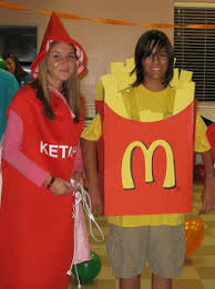 French Fry Halloween Costume Inspired Resourceful Creative Making Costume