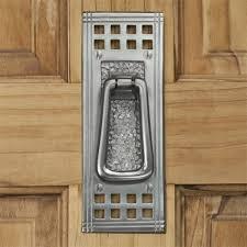 Craftsman Style Door Hardware Mission Brass Door Knocker Hardware
