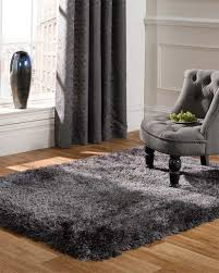 Shaggy Grey Rug Pearl Dark Grey Shaggy Rugs Online Capital Rugs Uk