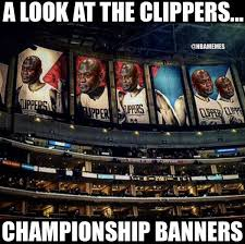 Clippers Memes - nba memes on twitter clippers chionship banners https t
