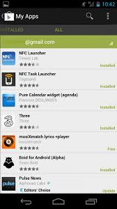find my app for android play store updated new tabbed my apps ui and app review