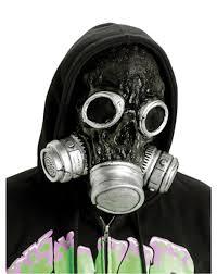 halloween costume with mask biohazard bio chemical zombie horror gas mask halloween costume
