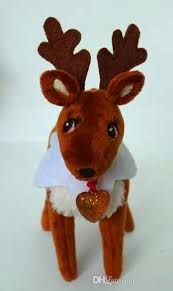 on the shelf reindeer chistmas deer pet reindeer soft doll the christmas shelf