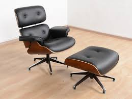 eames lounge chair replica with stool buy and sell used furniture