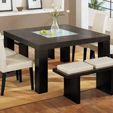 Square Dining Table For  Dimensions Dining Table Seats - Black dining table for 10