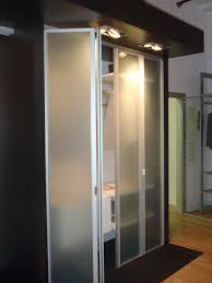 Glass Bifold Closet Doors Bifold Closet Doors Creative Mirror Shower