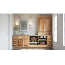 home depot kitchen cabinets display hton assembled 27x30x12 in wall kitchen cabinet in hickory