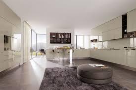 modern living room and kitchen design applying modern kitchens design
