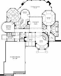 hacienda house plans spanish with courtyard lively floor 15
