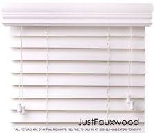 2 Faux Wood Blinds Faux Wood Blinds Ebay