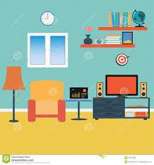 vector living room stock vector image 39670998